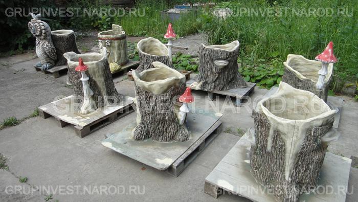 Мастер класс изготовление из бетона