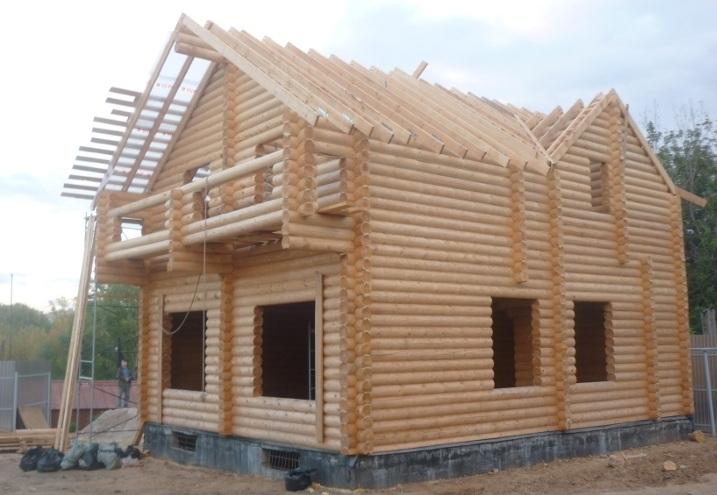 срубы домов из бревна в макарьеве