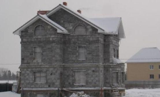 Монолитный дом своими руками из полистиролбетона