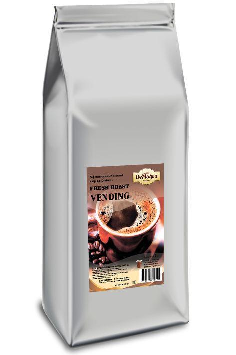 """Кофе зерновой Fresh Roast """"VENDING"""" DeMarco"""