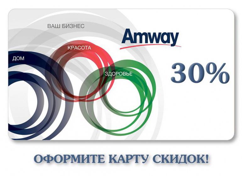 Как покупать товары Amway?
