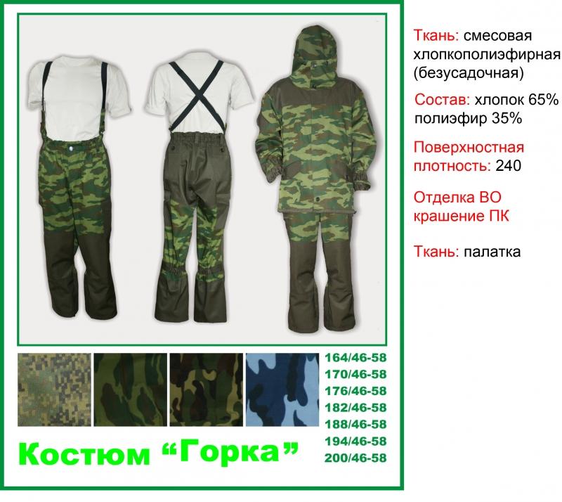 Костюм Горка Оптом Для охоты и рыбалки
