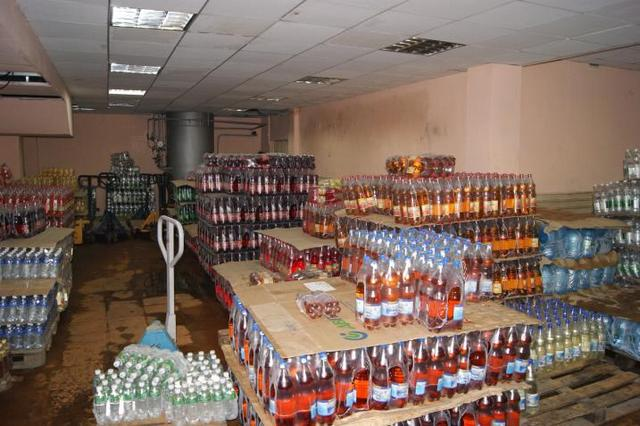 Оптовая продажа безалкогольных напитков