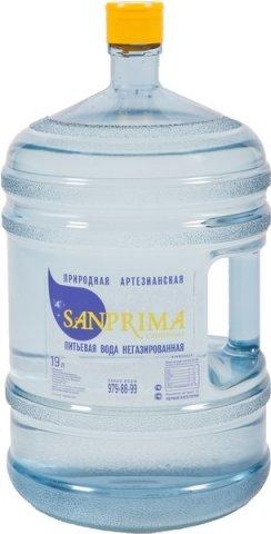 Артезианская вода 19 литров Sanprima