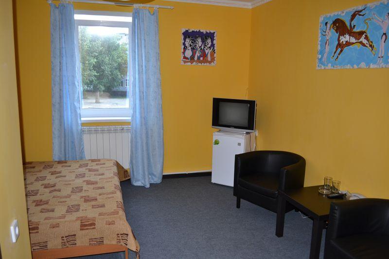 Комфортные двухместные номера гостиницы в Барнауле