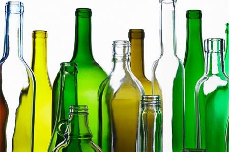 Стеклобутылки разных объмов от 8 рубшт.