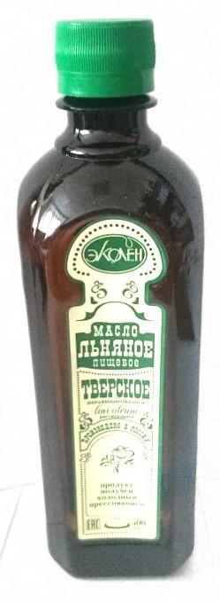 Пищевое льняное масло Тверское