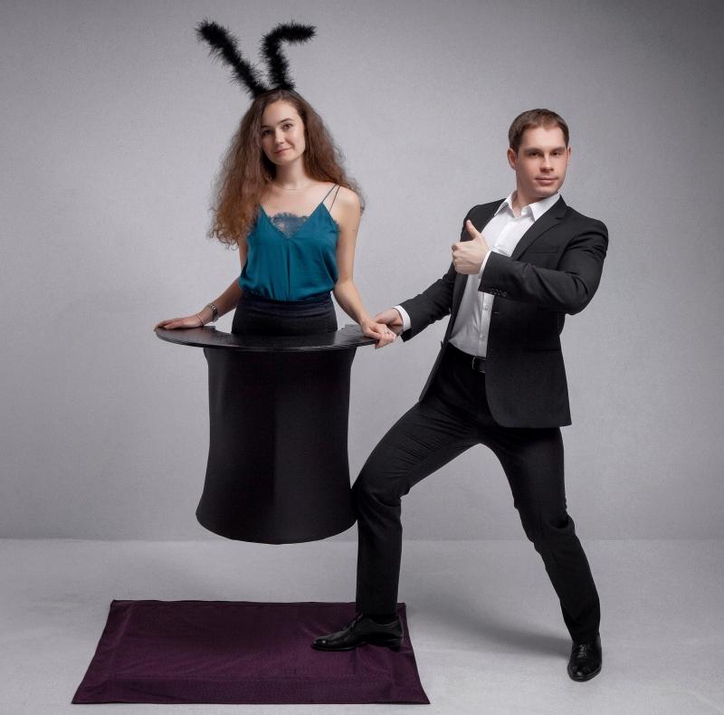 Волшебная фото-зона Кролик из шляпы