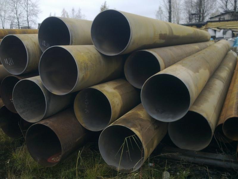 Реализуем трубы бу и трубы восстановленные диаметром 630х7-8мм.