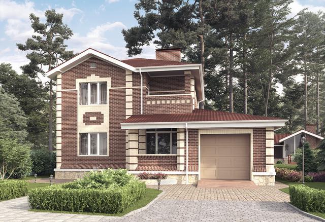 Продается дом площадью 230м2 с цокольным этажом, участок ИЖС -978,6 м2.