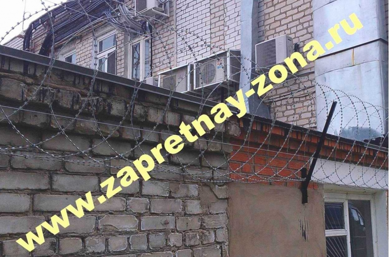 Спиральный барьер безопасности Егоза в Москве