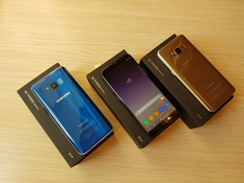Новые Samsung Galaxy S8. 64gb. Доставка.