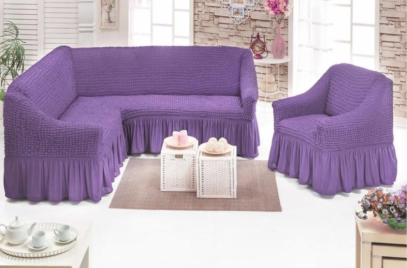 Универсальные чехлы для дивана, кресел и стульев
