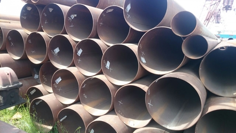 Низкие цены на стальные трубы бу лежалые восстановленные в Санкт-Петербурге