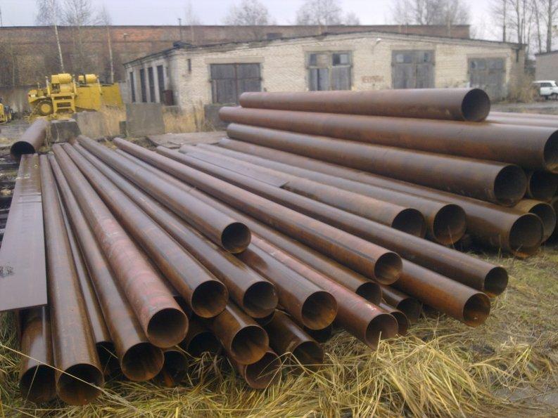 Труба стальная 219х6 мм 219х7мм 219х8мм лежалая.