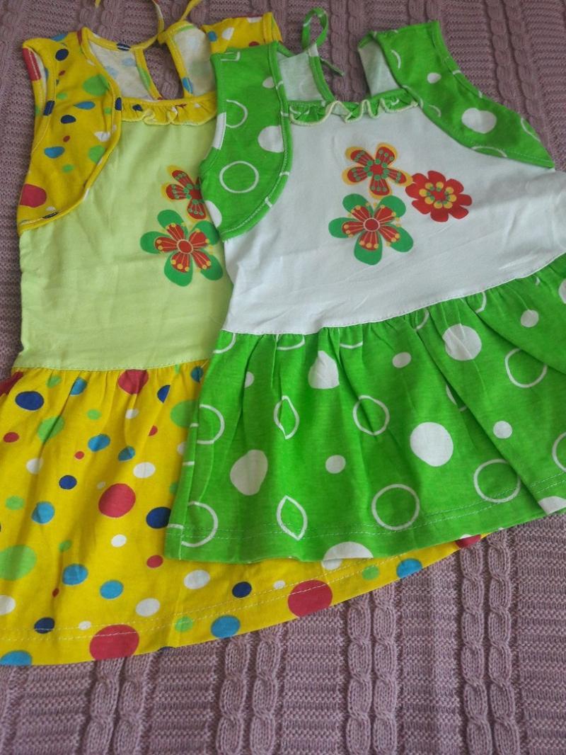 Платья для девочек на рост 80, 86, 92, 98