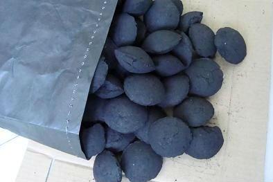 Угольные брикеты из Кузбасса