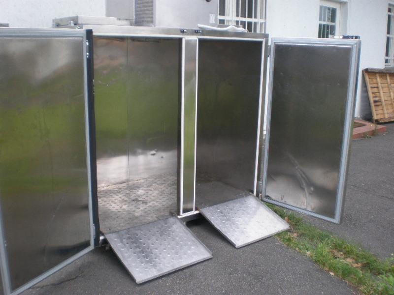 Холодильник для отходов забоя и обвалки