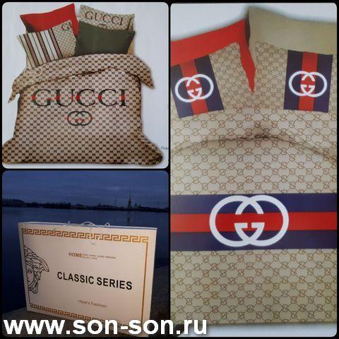 Постельное белье бренд сатин евро размер