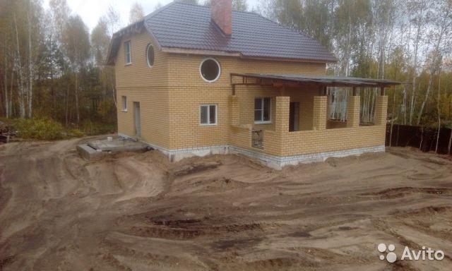 Дом с прудом в сосновом лесу. Нижний Новгород
