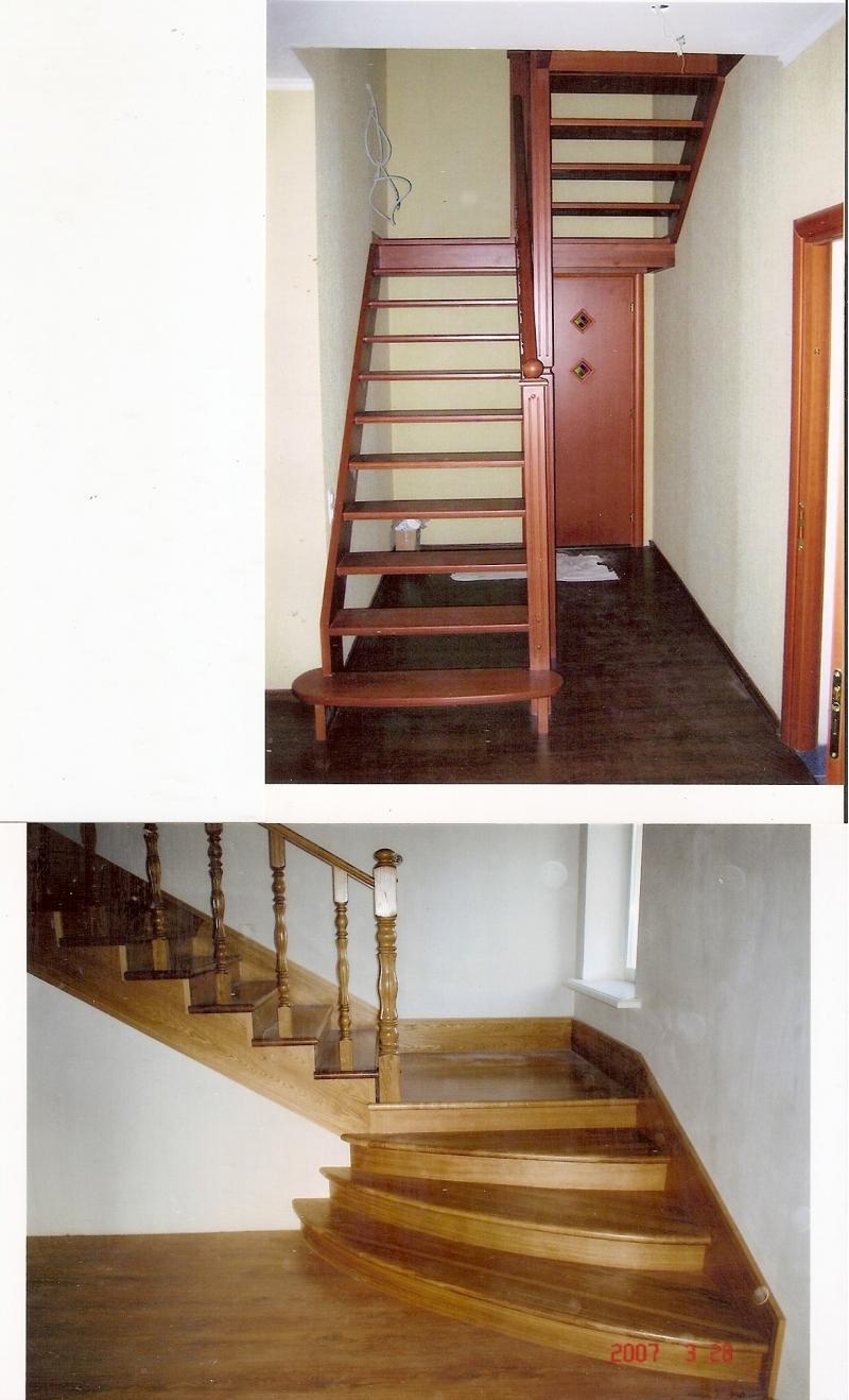 Маршевые лестницы из дерева в Москве, цены - антикризисные