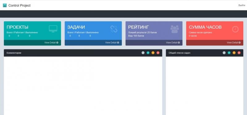 Сontrol Project   система управления проектами
