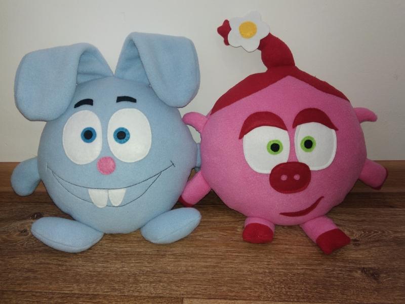 Подушка-игрушка из смешариков