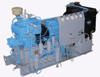 Воздушный компрессор в АКР2-1