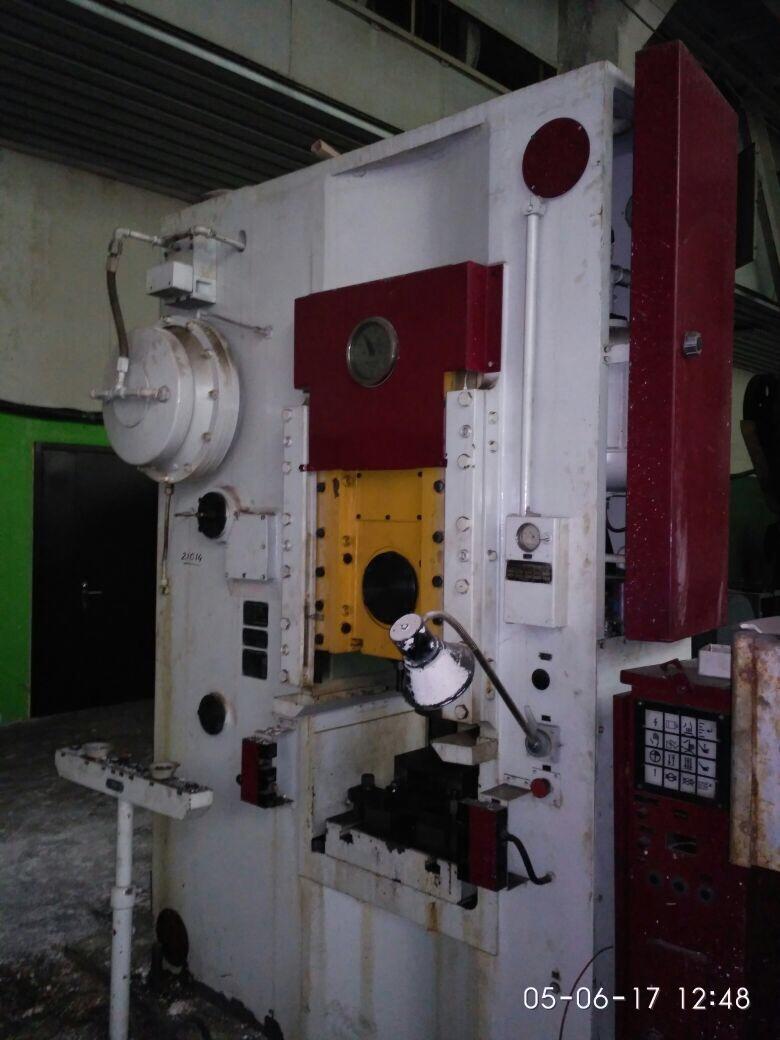 Пресс кривошипный PKZZ1250 ERFURT Пресс кривошипный PKZZ 1 315.1 ERFURT ...