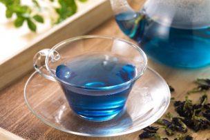 Синий чай из Таиланда оптом