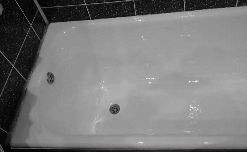 Эмалировка ванн. Наливная ванна. Акрил.