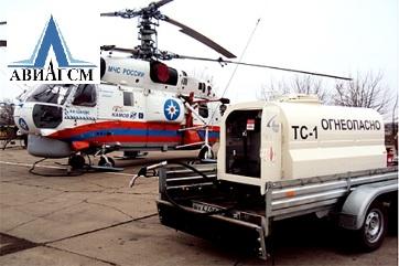 МУЗ-920 мобильный топливозаправщик для малой авиации
