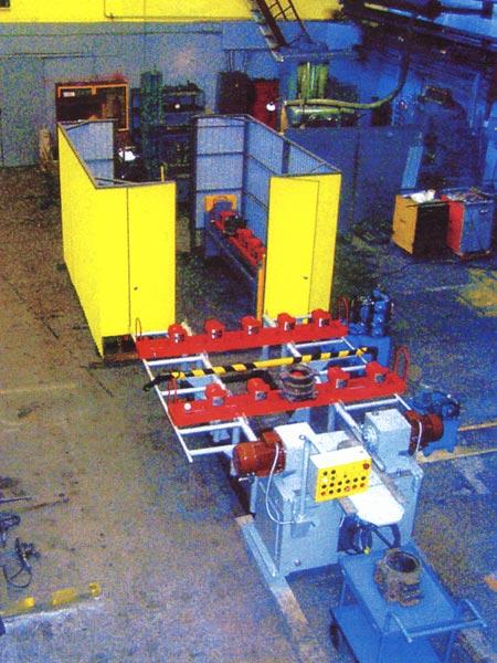 Участок наплавки и механической обработки корпусов роликовых букс грузовых вагон