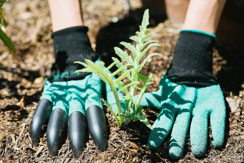 Садовые перчатки с когтями Garden Genie Gloves - оптом