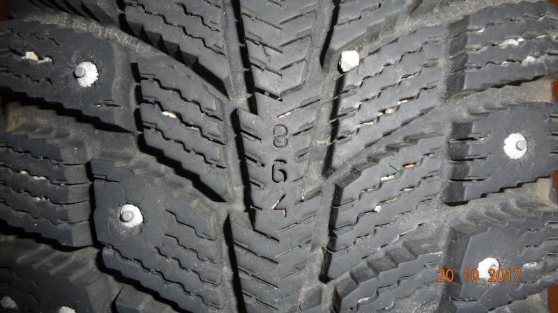 Шипованные шины 18570R14 на дисках 4 колеса