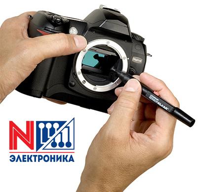 Ремонт цифровых фотоаппаратов, объективов, вспышек, видеокамер