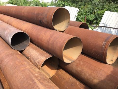Купить бу трубу 720х8мм 720х9мм 720х10мм под восстановление.