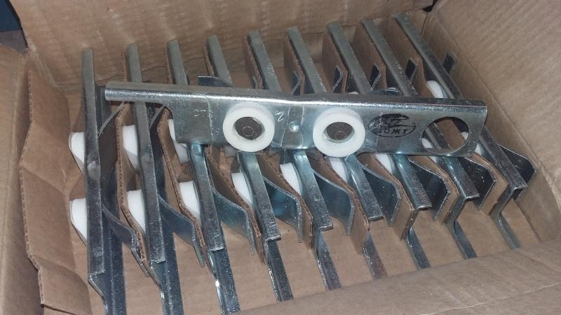 Соединитель рельсовый пружинный СРСП НФТХ на складе,новый, сертификат
