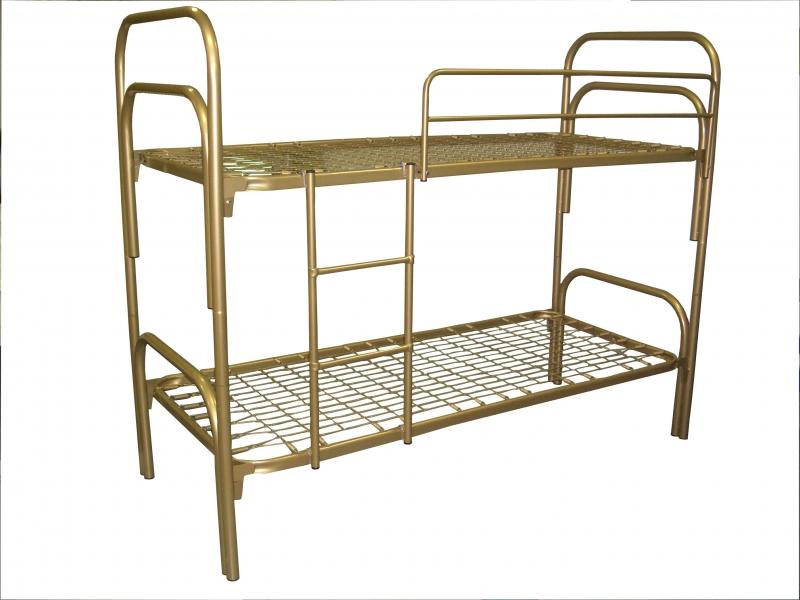 Армейские металлические кровати, кровати трехъярусные
