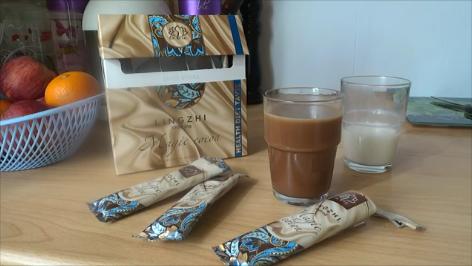 Напиток Lingzhi Magic Cocoa Линчжи мэджик Кокоа - какао с линчжи
