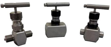 Клапан запорный игольчатый высокого давления аналог 15с67бк