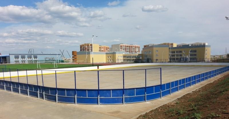 Хоккейная коробка производство и монтаж. Изготовим и качественно смонтируем  хоккейную коробку