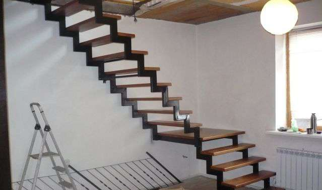 Изготовим металлический каркас лестницы