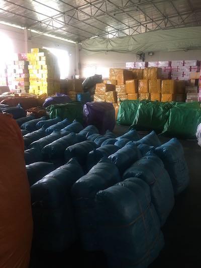доставим ткани от поставщика из Китая в РФ без посредников.