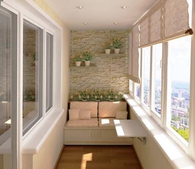 Остекление и отделка балконов и лоджий под ключ