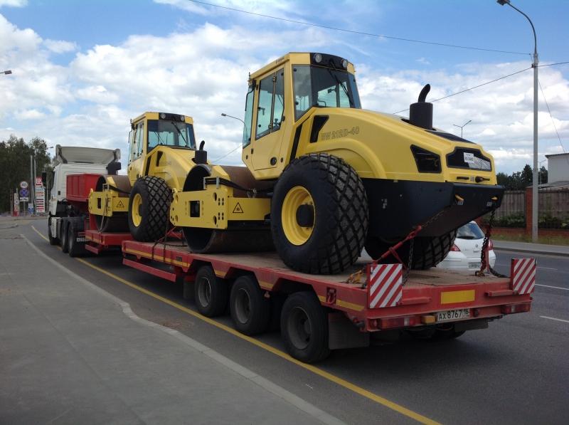 Перевозка тракторов, комбайнов