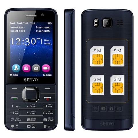 Мобильный телефон SERVO 9500 4 sim картв