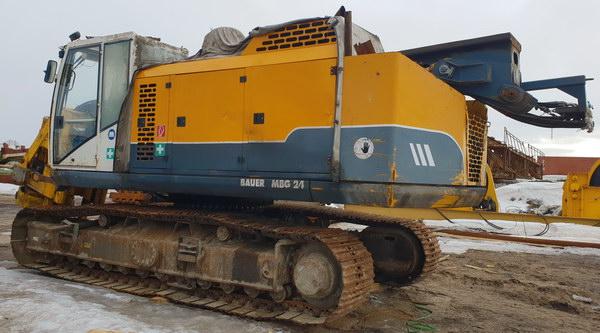 Буровая установка Bauer MBG-24. 2007 г.в.