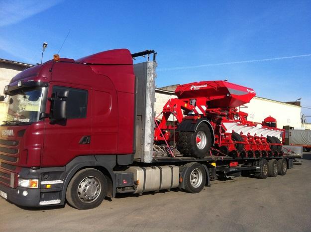 Перевозка сельхозтехники, оборудования, металлоконструкций