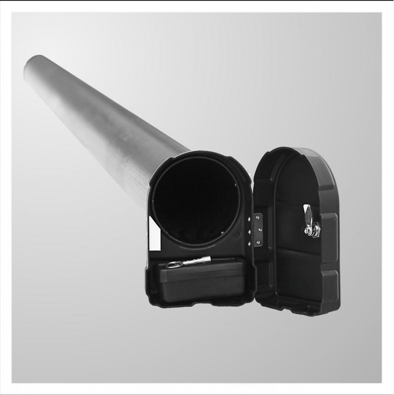 Пенал для топливных рукавов на бензовоз
